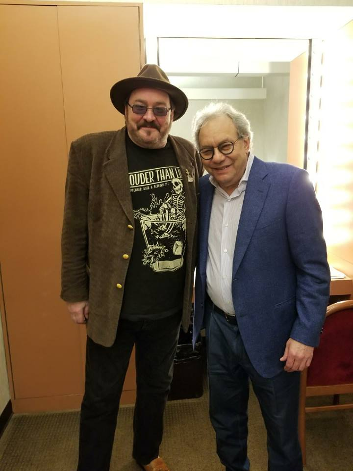 Opening for Lewis Black